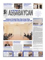 Азярбайъан Президенти Илщам Ялийев Авропа Иттифагы