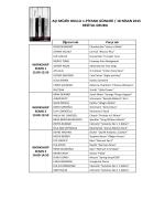 Resital Grubu workshop listesi için tıklayınız.