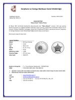 koleksiyon servisi - Darphane ve Damga Matbaası Genel Müdürlüğü