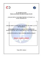 İhale Şartnamesi - Ankara Doğal Elektrik Üretim ve Ticaret A.Ş.
