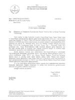 2015/1 inci Üç Aylık Yurtiçi Burs Ücreti