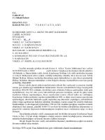 ESAS No: 2013/ KARARN0z2013/ YARGITAYİLAMİ