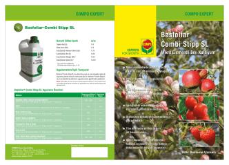 Basfoliar Combi Stipp SL broşürümüzü