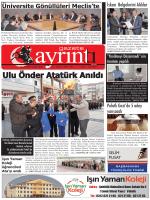 11 Kasım 2014 Salı - Polatlı Gazete Ayrıntı