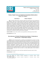 BERJ 5(1) - Business And Economics Research Journal