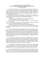 2014 Yılı Genel Kurulu - polsan