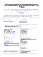 Fragebogen Firmenprofil Delegationsreise Türkei 4.