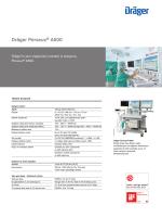Ürün enformasyonları: Dräger Perseus® A500 (PDF)