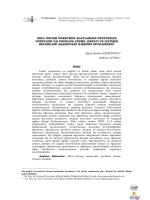 Tam Metin (PDF) - Turkish Studies