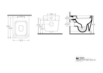 10SQ02001 SOTT AQUA ASMA WC
