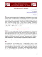 Muzaffer Şerif Başoğlu - Eğitim ve Öğretim Araştırmaları Dergisi