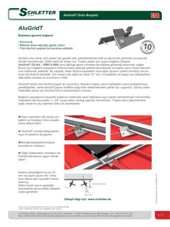 AluGridT - Schletter GmbH