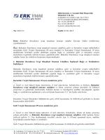 2015/17 - Bakanlar Kurulunca vergi muafiyeti tanınan vakıflar
