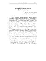 EĞİTİM NAFAKASI (TMK m. 328/II) The Education Alimony