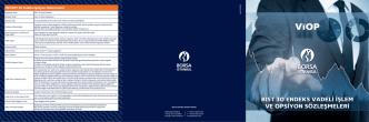 bıst 30 endeks vadeli işlem ve opsiyon sözleşmeleri