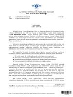 Uygun Konaklama Tesisi - Sivil Havacılık Genel Müdürlüğü