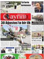 1 eylül 2014 pazartesi - Polatlı Gazete Ayrıntı