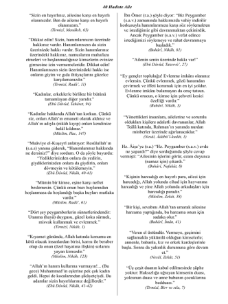 40 Hadiste Aile - Holy Kaaba - Makkah- Mesjad al
