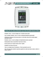 Kullanım Kılavuzu - EMKS Elektronik