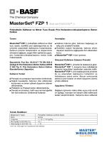 MasterSet® FZP 1 (Eski adı POZZUTEC® 1) Polinaftalin