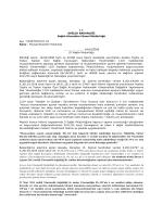 T.C. SAĞLIK BAKANLIĞI Sağlık Hizmetleri Genel Müdürlüğü Sayı