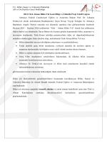 T.C. Bilim, Sanayi ve Teknoloji Bakanlığı AB ve Dış İlişkiler Genel