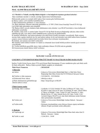 Çukurova Üniversitesi Elektronik Belge Yönetim ve Arşiv Sistemi