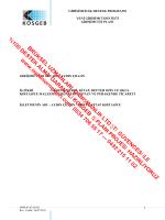 kosgeb - iş planı örnekleri iş planı örneği