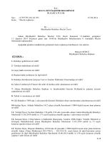 Ağustos 2014 Tarihli Meclis Gündemi