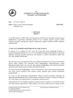 2014/17 - T.C. Gümrük ve Ticaret Bakanlığı