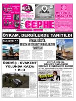04.08.2014 Tarihli Cephe Gazetesi