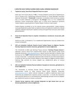 5 ağustos 2014 tarihli olağan genel kurul gündem maddeleri