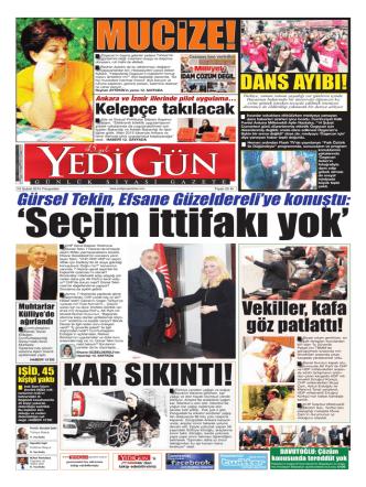 dans ayıbı! - Yedigün Gazetesi