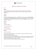 1 / 10 Acıbadem Üniversitesi Öğrenci Konukevi Yönergesi Amaç