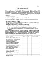 Vekaletname - Türkiye İş Bankası