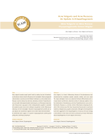 Akne Vulgaris ve Akne Rozase - Journal of Clinical and Analytical