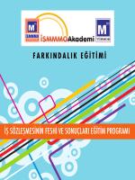 İş Sözleşmesinin Feshi Ve Sonuçları Eğitim Programı