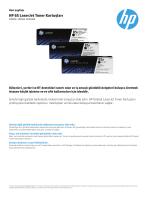 HP 85 LaserJet Toner Kartuşları