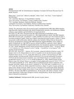 [PS03] Multiparametrik MR ile Görüntülemenin Sağladığı Avantajlar