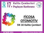Ficosa / 5N 1K Kalite Çemberi