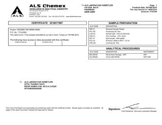 ALS Chemex