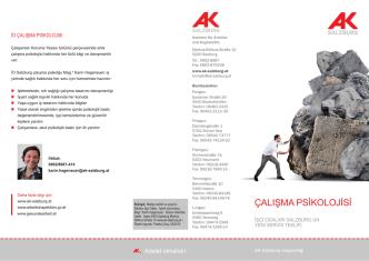 AK Folder Arbeitspsychologie TUR.indd
