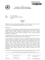 2014-5 sayılı Genelge - Gümrük ve Ticaret Bakanlığı Risk Yönetimi