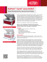 DuPont™ Cyrel® 1000 ECDLF Yüksek Teknoloji Ana Poz, Kurutma