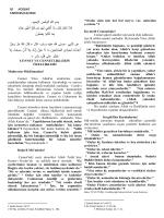 05.12.2014 - cennet ve cennetliklerin özellikleri