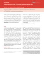 Nazobiliyer drenaja bağlı akut böbrek yetmezliği gelişebilir mi?