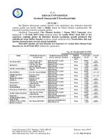 Akademik Danı TC ŞIRNAK ÜNİVERSİTESİ Akademik Danışmanlık