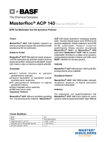 MasterRoc® ACP 143(Eski Adı RHEOSOIL® 143) EPB Tip