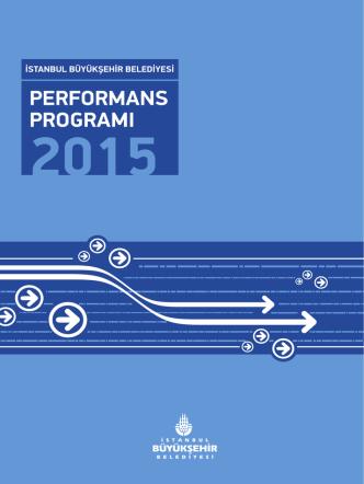 2015 Performans Programı - İstanbul Büyükşehir Belediyesi