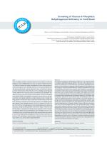 Screening of Glucose-6-Phosphate Dehydrogenase Deficiency in
